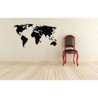 My Wall Tattoos - World Map Photo