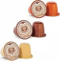 Caffeluxe Flavoured Coffee Selection Capsules - Compatible with Nespresso & Caffeluxe Capsule Coffee Machines Photo