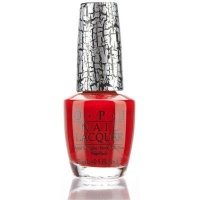 OPI Nail Lacquer Red Shatter Photo