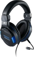 BigBen Stereo Over-Ear Gaming Headphones with Microphone for PS4 and PC Photo