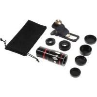Unbranded Universal 4-in-1 Smartphone Lens Kit - Black Photo