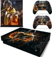 SKIN NIT SKIN-NIT Decal Skin For Xbox One X: Scorpion Fire Photo