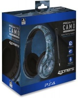 4Gamers PRO4-70 Stereo Over-Ear Gaming Headphones for PS4 - Camo Edition Photo