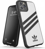 Adidas 36280 mobile phone case 14.7 cm Cover Black White 3-Stripes Snap Case for iPhone 11 Pro Photo
