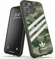 Adidas 36375 mobile phone case 14.7 cm Cover Green White 3-Stripes Camo Snap Case for iPhone 11 Pro Photo