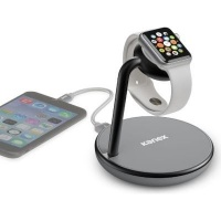Kanex GoPower Stand with Wireless QI Charging Base for Apple Watch and iPhone Photo