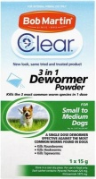 Bob Martin Clear 3in1 Dewormer Powder for Small to Medium Dogs Photo