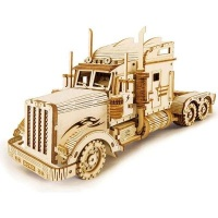 Robotime ROKR Scale Model Vehicle - Heavy Truck Photo