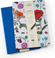 The Papery Blue Blossoms Journals Combo Photo
