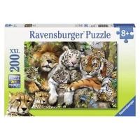 Ravensburger Big Cat Nap Jigsaw Puzzle Photo