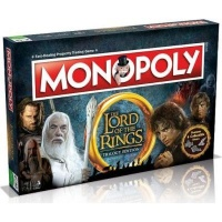 Lord of the Rings Monopoly Board Game Photo