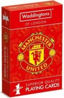 Waddingtons No1 Playing Cards - Manchester United Photo