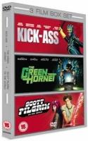 3 Film Box Set - Kick-Ass / The Green Hornet / Scott Pilgrim Vs. The World Photo