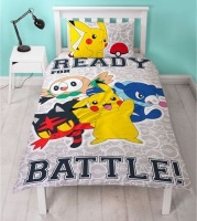 Pokemon Laredo Panel Duvet Set Photo