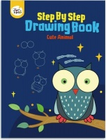 JarMelo Step-by-Step Drawing Book: Cute Animals Photo