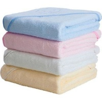Clevamama Splash & Wrap Bath Towel - Blue Photo
