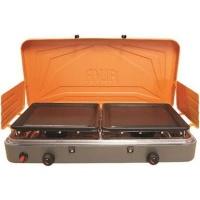 Alva 2Burner Gas stove with Solid plates Photo