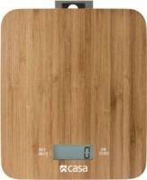 Casa Electronic Bamboo Kitchen Scale Photo