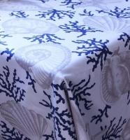 Balducci Coral Shell Tablecloth Photo