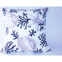 Balducci Coral Shell Scatter Cushion Photo