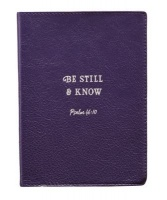 Christian Art Gifts Be Still & Know Journal Photo
