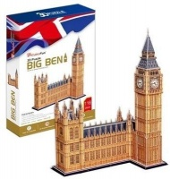 Cubic Fun 3D Puzzle - Big Ben Photo