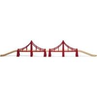 Brio Double Suspension Bridge Photo