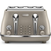 Delonghi Icona Elements 4 Slice Toaster Photo