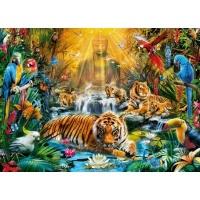Clementoni Mystic Tigers Jigsaw Puzzle Photo