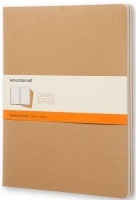 Moleskine Cahier Journal Pack Soft Ruled XX-Large Natural Photo