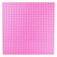 Bricks & Pieces - Flat Baseplate 32x32 - Pink Photo