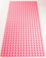 Bricks & Pieces - Block Baseplate 16x32 - Pink Photo