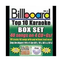 Billboard Top 10 Karaoke Box Set Vol CD Photo