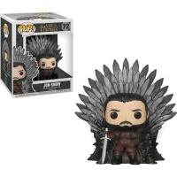 Funko Pop! Deluxe: Game of Thrones - Jon Snow Sitting on Throne Vinyl Figurine Photo