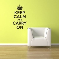 My Wall Tattoos - Keep Calm and Carry On Photo