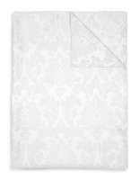 Lyric Jacquard Round Tablecloth Photo