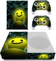 SKIN NIT SKIN-NIT Decal Skin For Xbox One S: Happy Face Photo