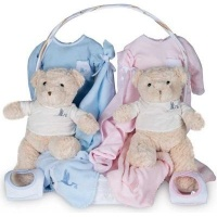 BebedeParis Twins Classic Baby Basket Photo