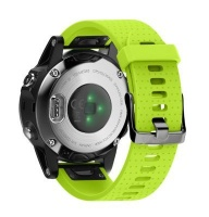 Unbranded Silicone Band for Garmin Fenix 5s/ 5s Plus - Lime Photo