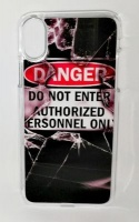 Lali and Me iPhone X Cell Phone Cover - Danger Photo