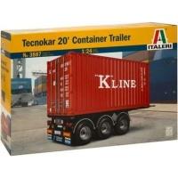 Italeri Tecnokar 20' Container Trailer Photo