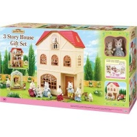 Sylvanian Families 3 Story House Gift Set A Photo