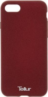 Tellur Premium Cover Pebble Touch Fusion for Apple iPhone 7/8 Red Brown Photo