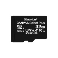 Kingston 32GB MicroSDHC Canvas Select Plus 100R A1 Class 10 Card ADP Photo