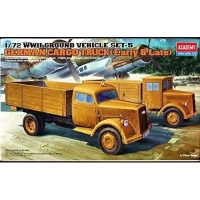 Academy Ground Vehicle Series 5: German Cargo Truck [Early and Late] Model Kit Photo