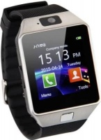 Unbranded Bluetooth Smart Watch DZ09 With Camera - Silver Photo