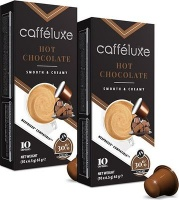 Caffeluxe Hot Chocolate - Compatible with Nespresso & Capsule Coffee Machines Photo