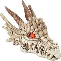 Penn Plax Penn-Plax Dragon Skull Gazer Aquarium Ornament Photo