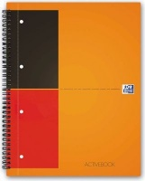 Oxford International Ruled Meeting Book with Elastic Straps Photo