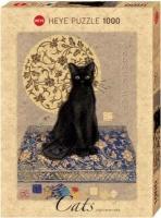 Heye Jigsaw Puzzle - Black Cat Photo